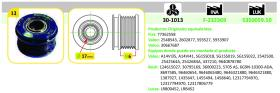 Ijs Group 301013 - POLEA ALTERNADOR CITROëN - FIAT - FORD - LANCIA - LAND ROVER