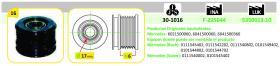 Ijs Group 301016 - POLEA ALTERNADOR RENAULT